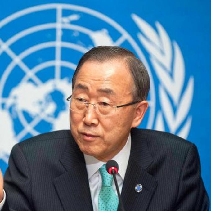 Baan Ki-moon – FN's Generalsekreterare